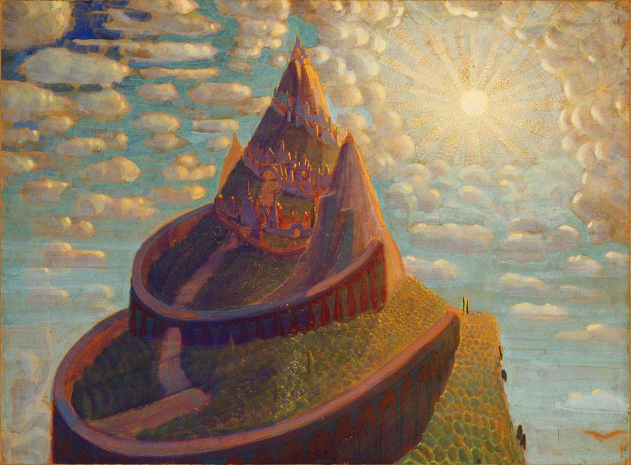 Замок.  Сотворение   мира -1909