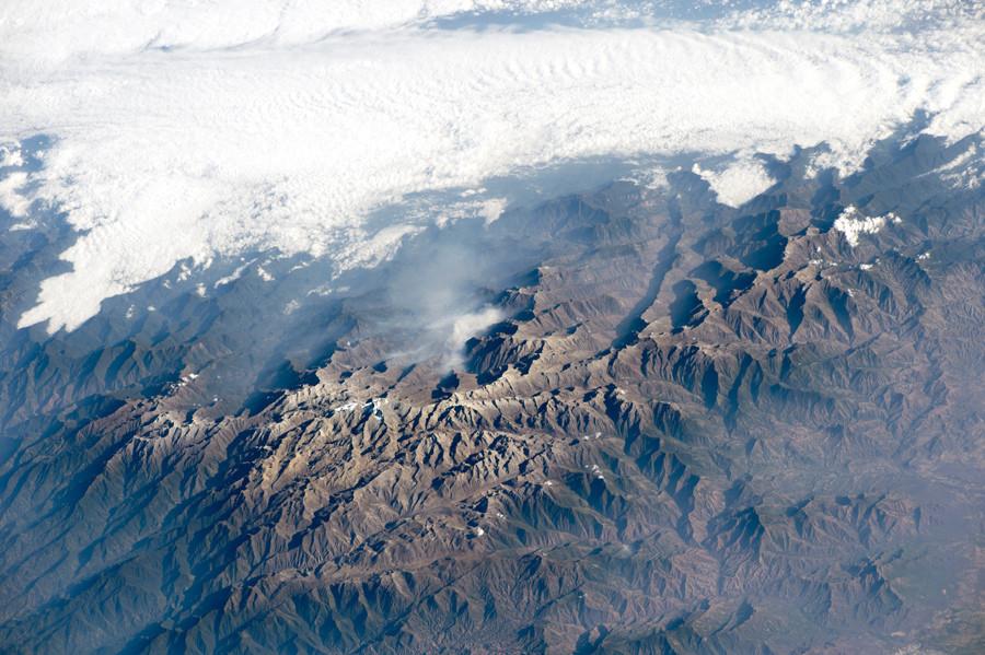 горный массив Сьерра-Невада-де-Санта-Марта на севере Колумбии. 27 Февраля 2015 года.jpg