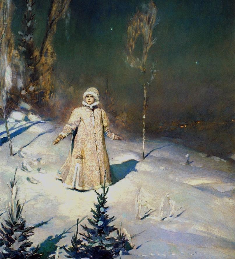 1 Васнецов Виктор Михайлович (1848-1926) Снегурочка. 1899 г. Третьяковская галерея, Москва.jpg