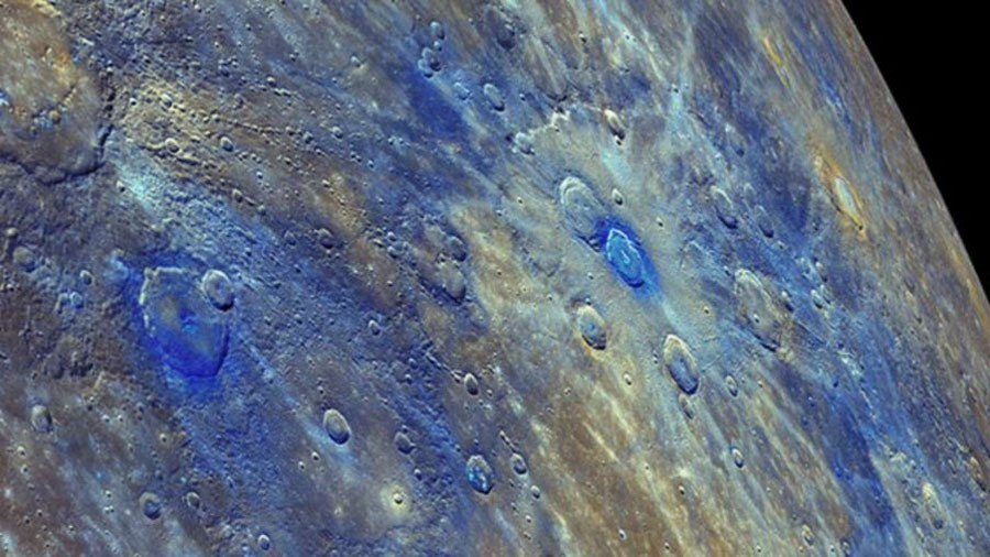 mercury surface