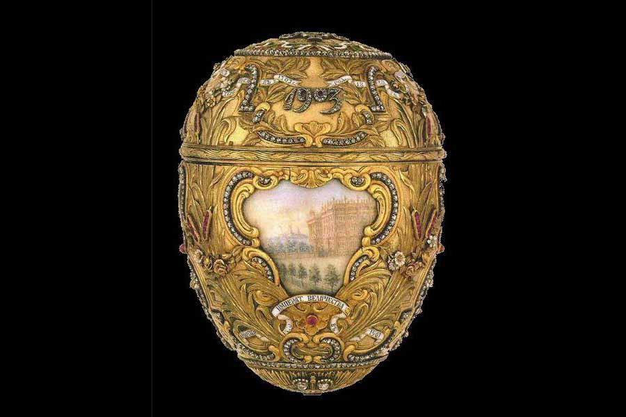 2 Яйцо «Пётр Великий», 1903.JPG