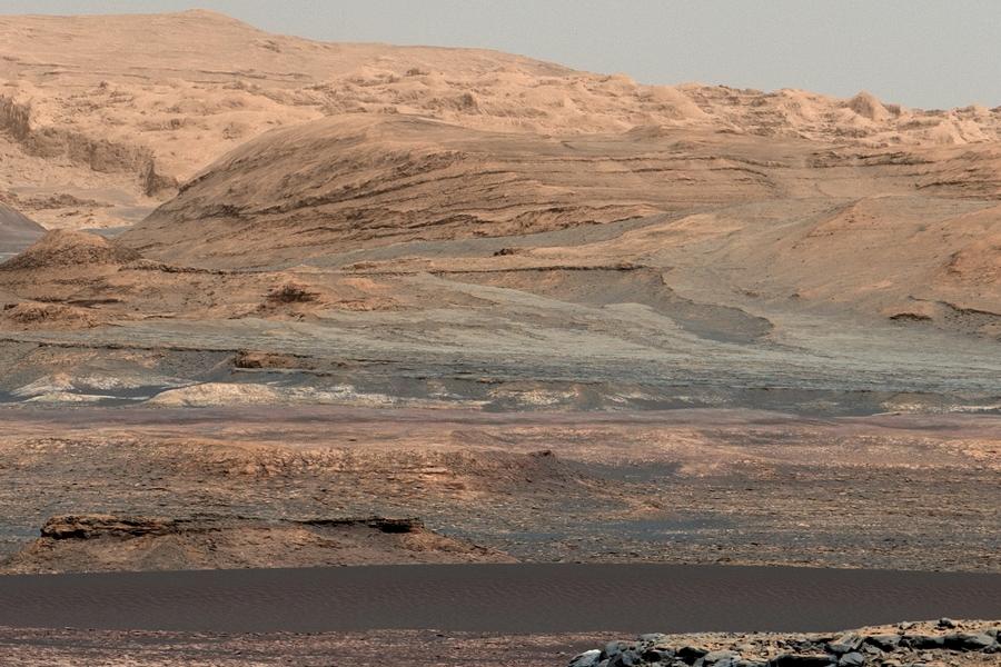 3 Песчаные дюны Марса, снятые марсоходом НАСА Кьюриосити.jpg