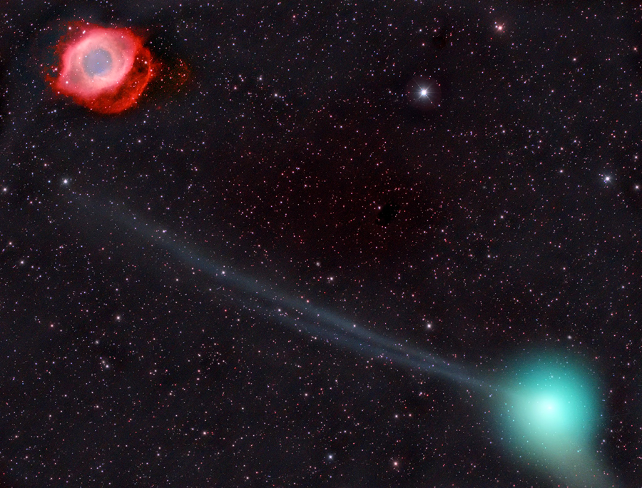 Комета  и  Глаз Саурона.jpg