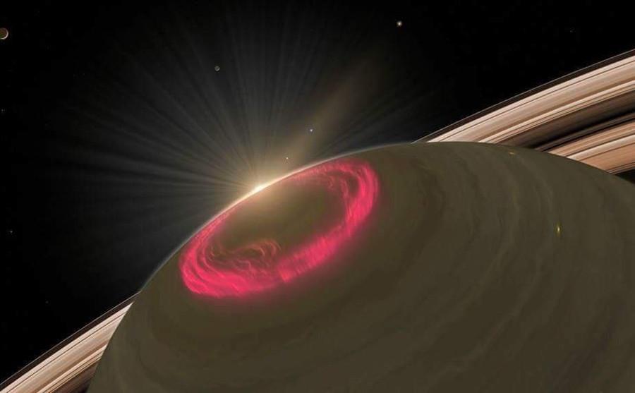 6 Полярное  сияние  на  Сатурне  Фото  Кассини.jpg