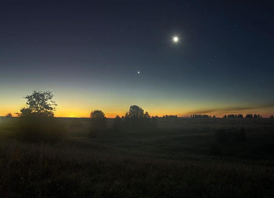 Луна Венера Марс Меркурий