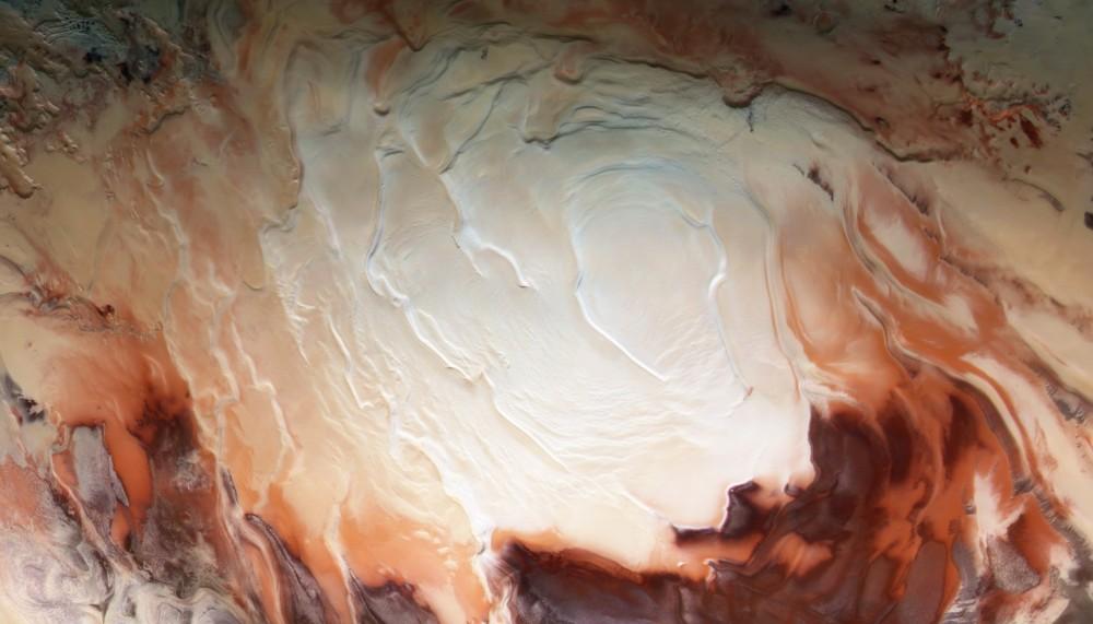 Южная  шапка  Марса