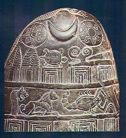 Символы  Венеры, Луны  и  Солнца