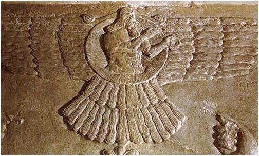 Ассирийский  бог Солнца