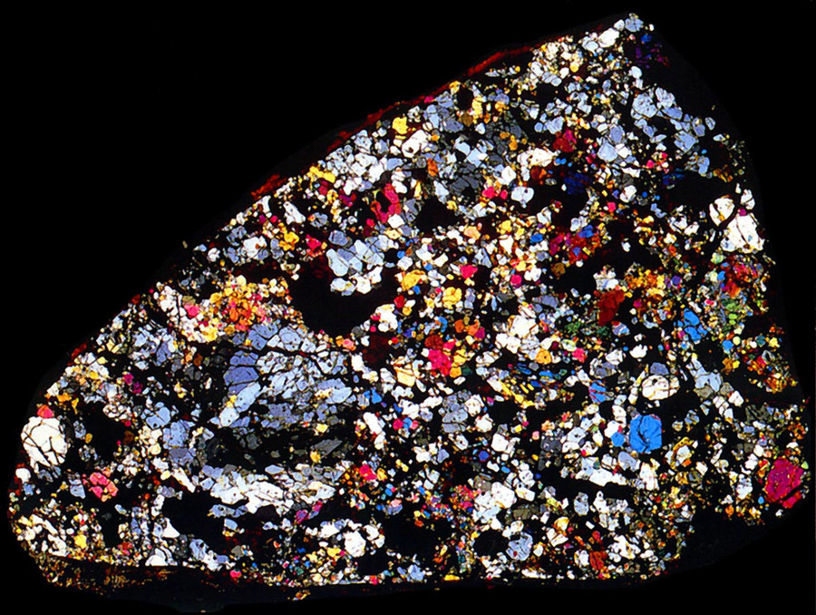 15 mosaicholocrystalline chondrites