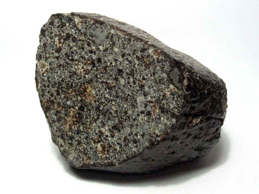 Отполированный срез обычного хондритного метеорита