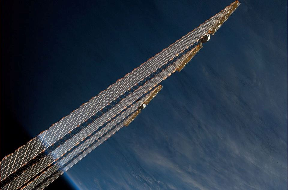 7 Солнечные  батареи