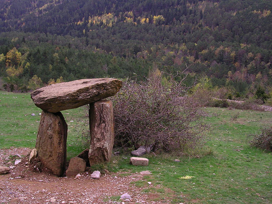 Испания Dolmen de SantaElena