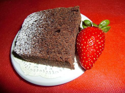 Кекс с маком и шоколадом