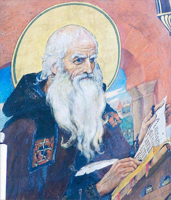 Святой Нестор-Летописец