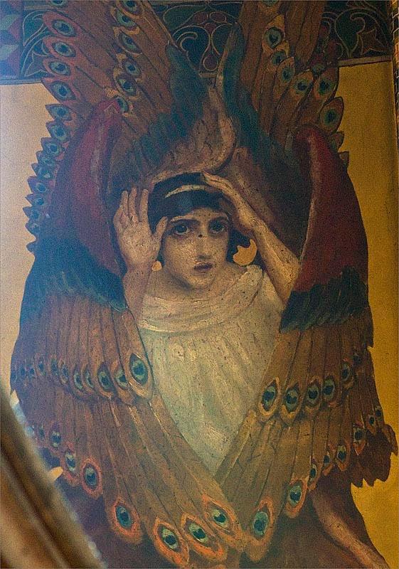 Дочь Прахова в образе Серафима