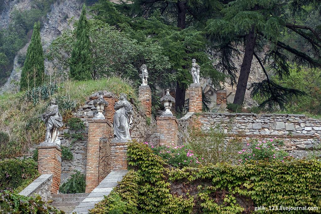 Замок Чини в Монселиче -