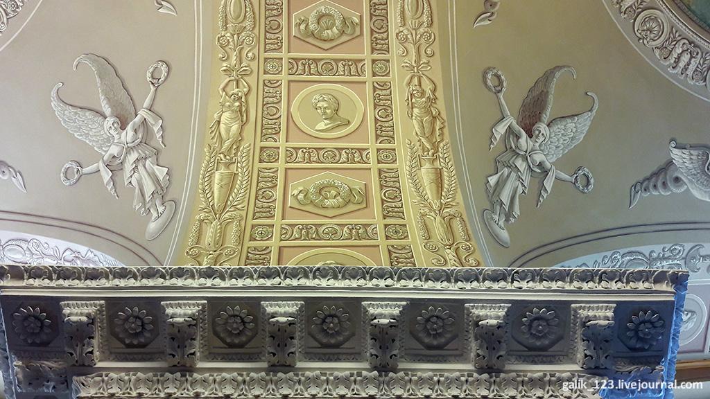 Интерьеры Английского клуба после реставрации Английского, клуба, ремонт, Капитальный, поэтапно, ставший, постройки, Сначала, длится, порядок, первым, XVIII, Здание, лепнина, гризайль, Московского, памятника, обновили, архитектуры, приводят