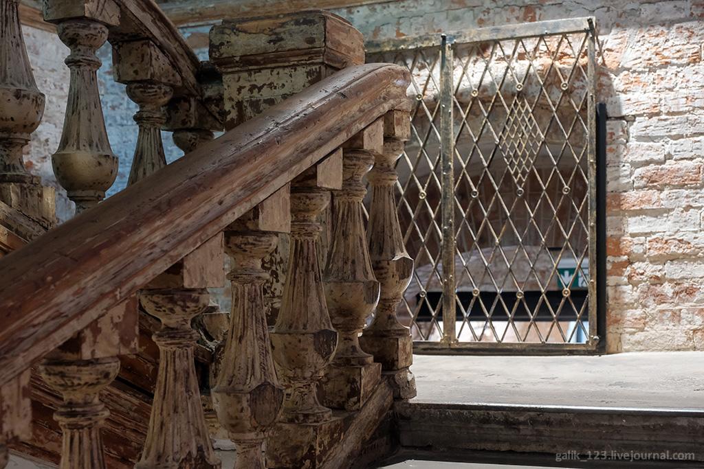 Руины русской архитектуры усадьбы, Талызиных, архитектуры, очень, здания, Флигель, самых, XVIII, флигель, когда, Москве, здание, удобно, интересно, Здесь, рассматривать, элементы, Своды, стало, исторической