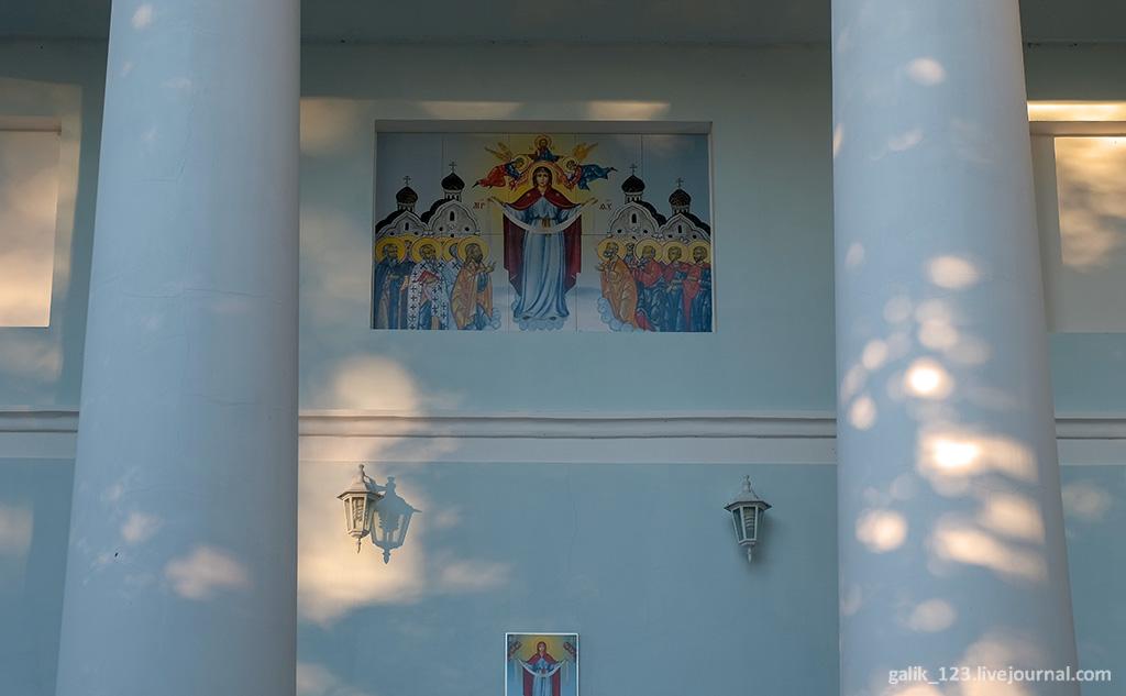 В стороне от дороги усадьбы, Гурьев, церкви, когда, поваром, усадебного, глухой, своим, крестом, храма, усадьбой, форме, рядом, классицизма, церковь, Богородском, После, только, сохранился, сформировалась