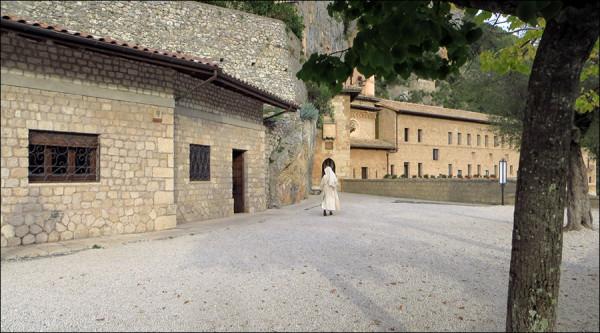 Пещерный монастырь в Субьяко. Италия