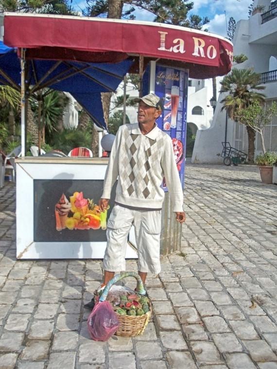 Продавец кактусов в Суссе