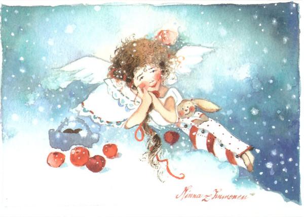 От Юры Ангел с игрушкой