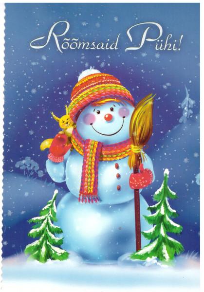 Снеговик от Макса