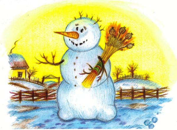 Снеговик от Зои