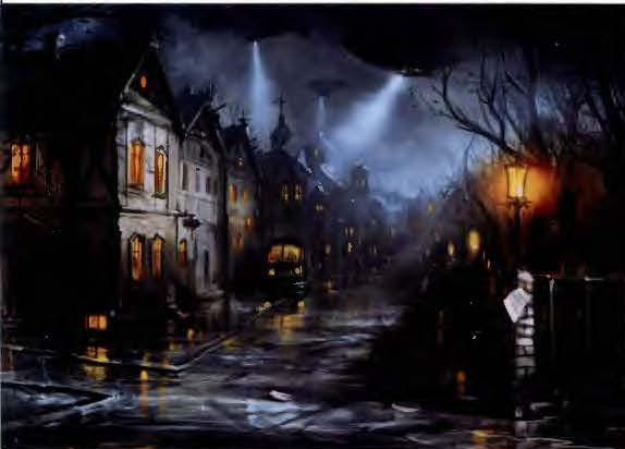 Пейзаж ночной