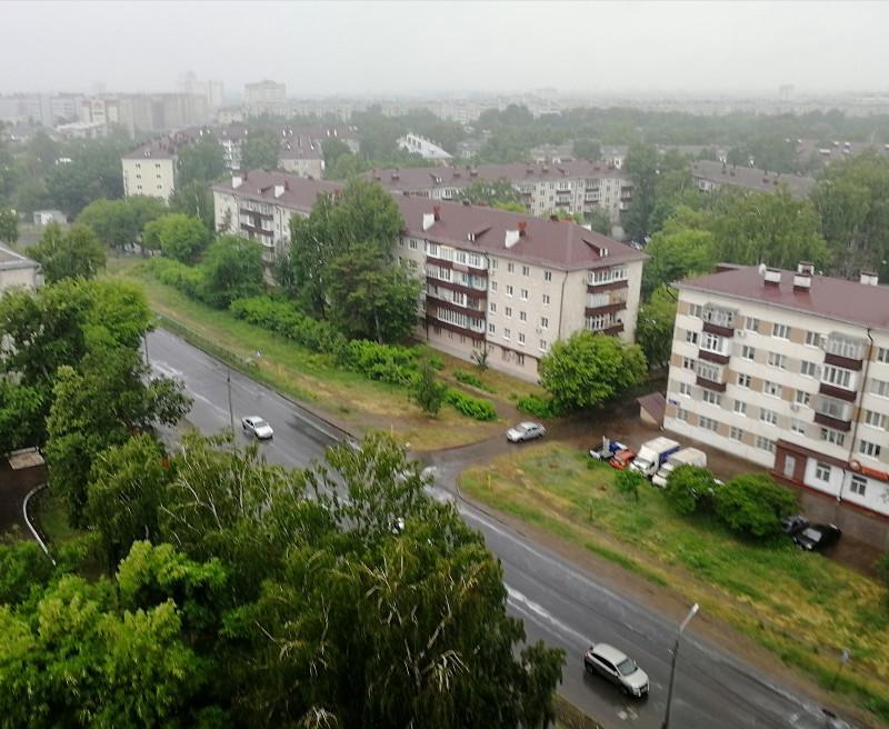 Фото дня - дождь