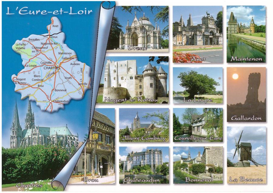 Карта из Франции