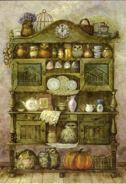 Шкаф с совами