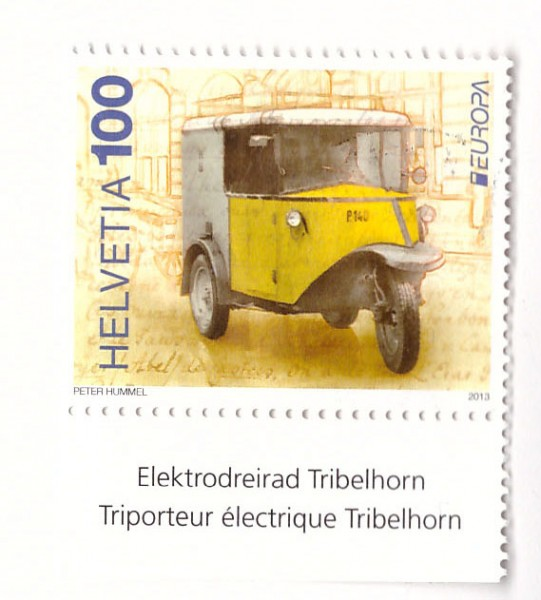 Марка Почтовый транспорт