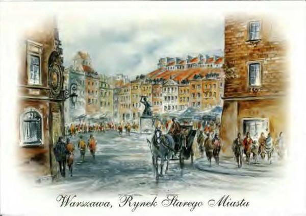 Варшава рынок старого города