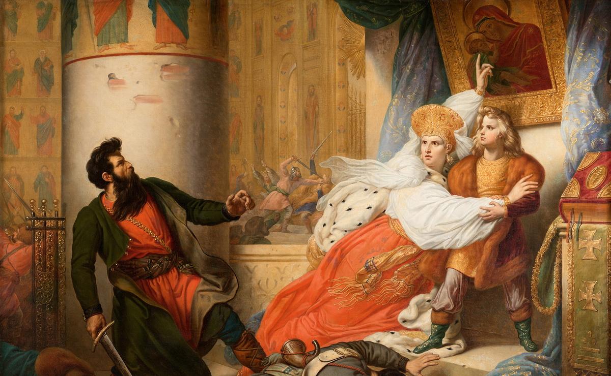 0220 Карл Штейбен. Стрелецкий бунт 1682 года.