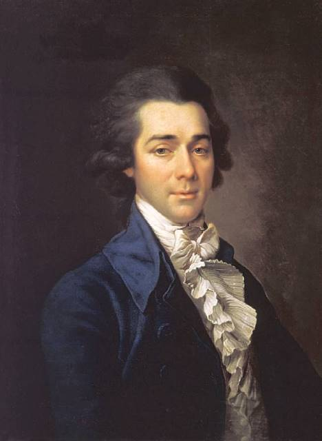 0300 Д.Г. Левицкий портрет Н.А. Львова 1780 РМ