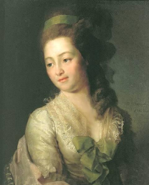 0315 Д.Г. Левицкий портрет М.А. Дьяковой 1778 ГТК