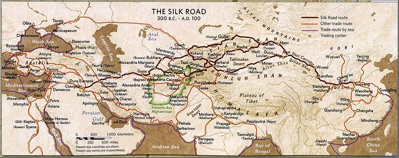 0_Silk-Road-Map-Afghanistan-show-Hiebert