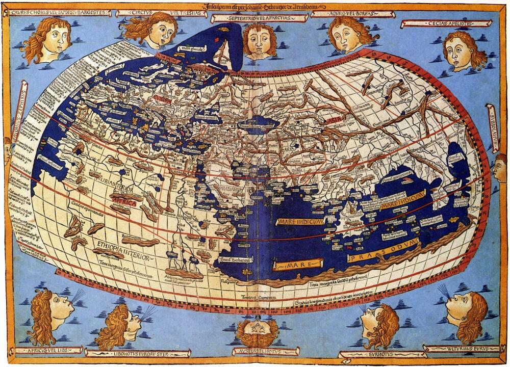 1_1482_Cosmographia_Germanus_Карта Птолемея