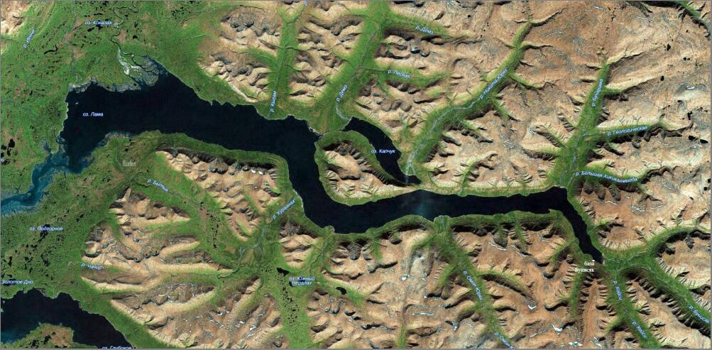 10_Карта озера Лама