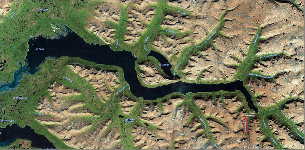 4_1_Карта озера Лама_Векхикай
