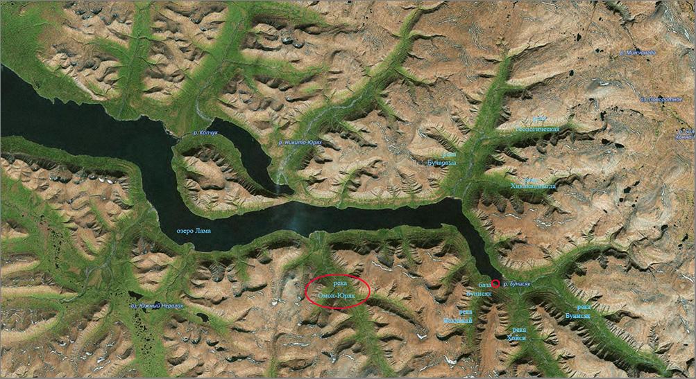 Карта с названиями_Омон-Юрях