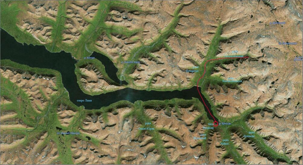 1_Карта с названиями_Геологическая