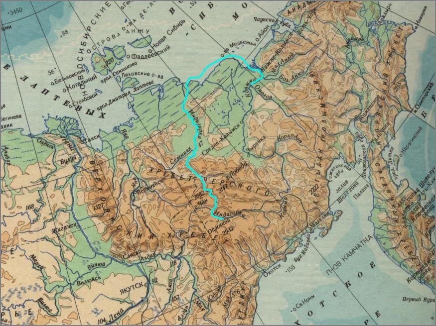 11_Карта первопроходцев_Стадухин