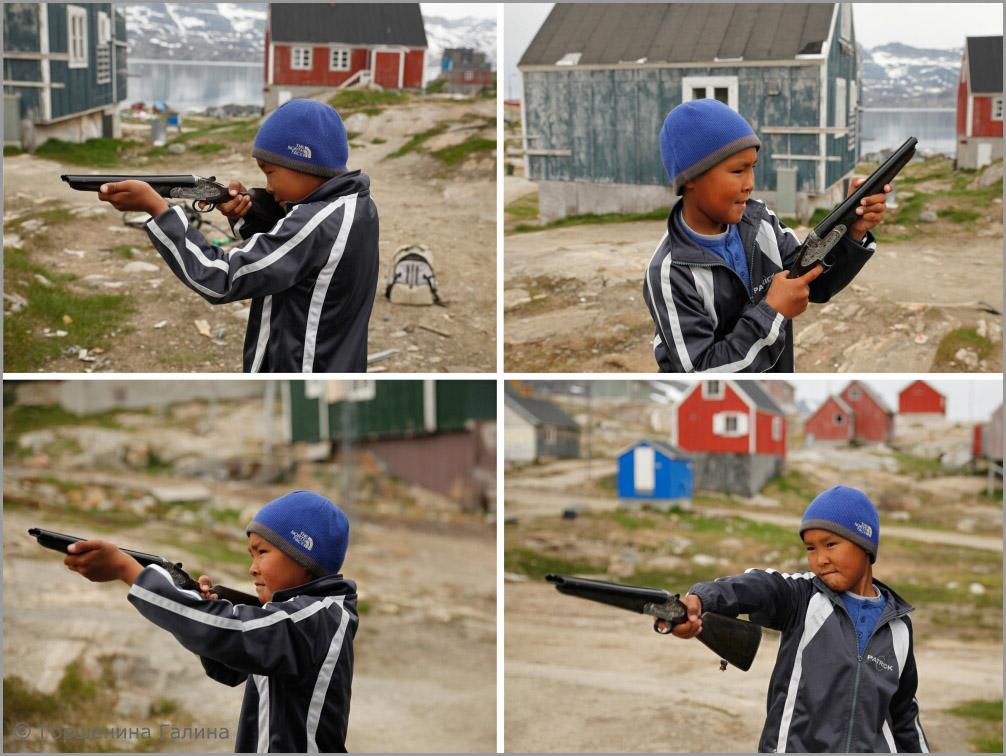 14_мальчик с ружьем