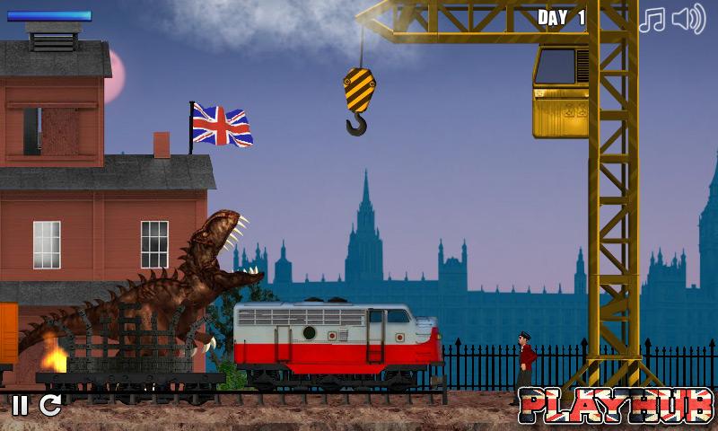 Тираннозавр Рекс в Лондоне