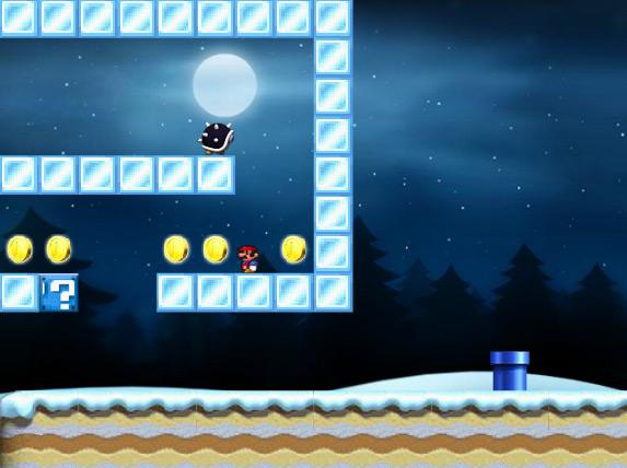 Зимние приключения Супер Марио