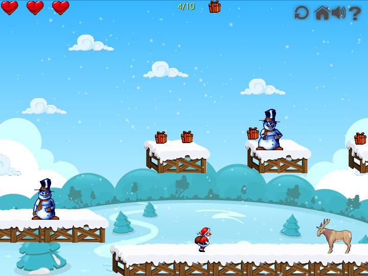 Игра Большое приключение Санта Клауса