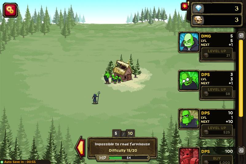 Игра Некромант повелитель зомби