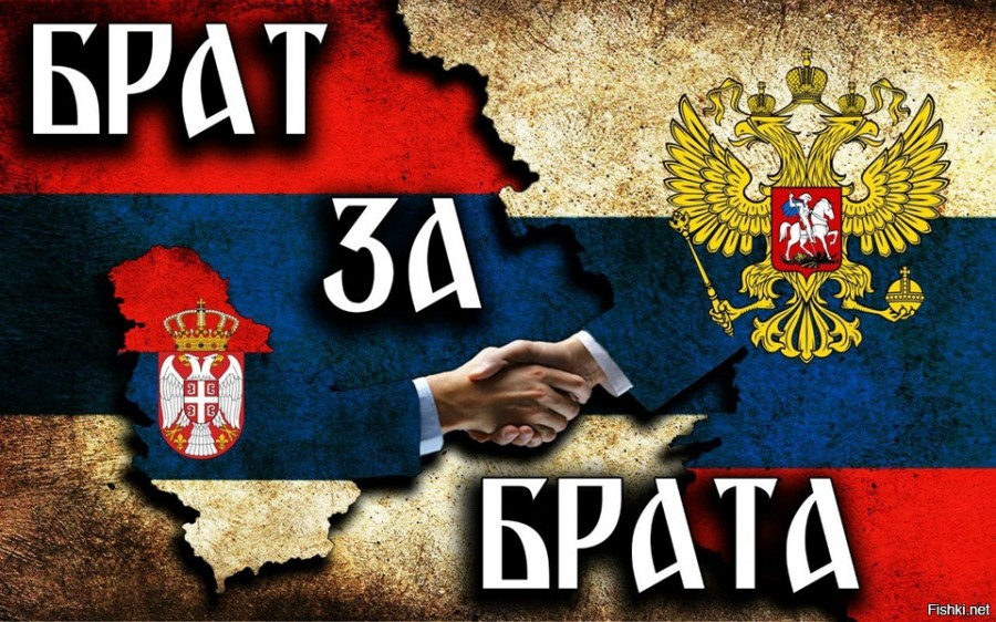 Картинки россия сербия